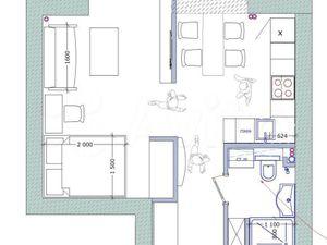 1 комнатная квартира Солдатская