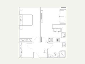 Сдается 2-комн. квартира 61.5 кв.м.
