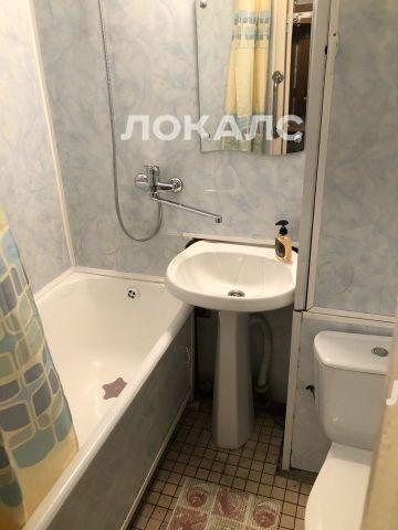 Сдам однокомнатную квартиру на Москва, Лодочная ул., 37с2, метро Водный стадион, г. Москва